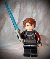 LEGO Star Wars Minifigure - Anakin Skywalker - #7957 Clone Wars w/ Lightsaber