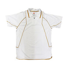 Canterbury Hombre Elite Polo/Camiseta Técnico Wick Away Ligero Ccc Nuevo
