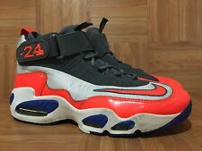 GUC🔥 Nike Air Griffey Max 1 White Total Crimson Hyper Blue Gray 11.5 354912-103
