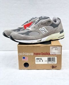Vintage Mens New Balance 991GL Running Shoes Made in USA Size 13 NEW
