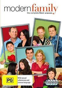 Modern Family : Season 1 (DVD, 2010, 4-Disc Set) new