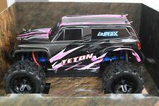 Traxxas TRX 76054-1 Pink Latrax TETON 1:18 4WD Monstertruck Rtr Set New Boxed