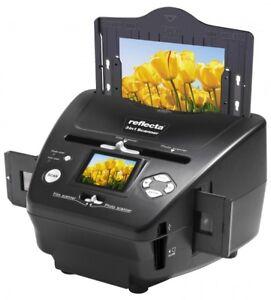 Reflecta 3 in 1 Scanner für Dias, Negative + Fotos - Spielend digitalsieren ****