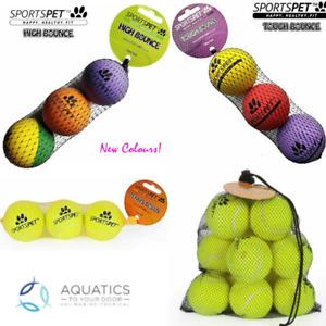 Sportspet Dog Balls- Choose from High Bounce, Tough Bounce, Tennis Balls