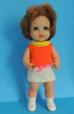 1967 MATTEL Vintage Baby Small Walk Doll Great 60,s Look