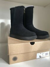UGG Classic Womens Short Blvd Boots - Black Brand New In Box Size 5 UK
