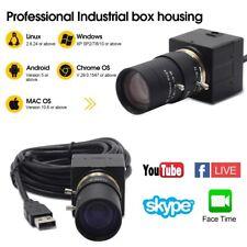 1Mp 720P Cs Mount 5-50mm manual Varifocal Usb Webcam H.264 Mjpeg Yuy2 Uvc Camera