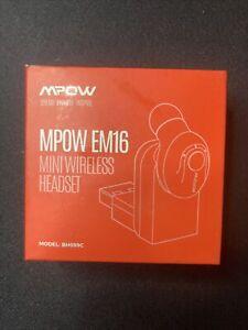 Bluetooth Earpiece Mpow EM16 V5.0 Mini Bluetooth Earbud Smallest Wireless