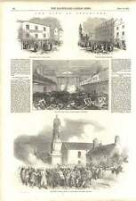 1852 Riot Stockport Catholic Chapel Edgeley Rock Row Carr Green