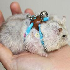 Pet Rat Mouse Harness Rope Ferret Hamster Finder Bell Leash Lead