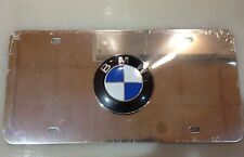 BMW Stainless Steel License Plate
