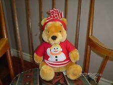 "Winnie The Pooh Bear Snowman Disney Store Exclusive 13"""