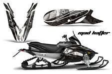 YAMAHA APEX GRAPHIC KIT AMR RACING SNOWMOBILE SLED WRAP DECAL 12-13 MADHATTER BK