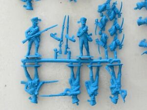 1/32 54mm Napoleonic Prussian Line Infantry Toy Soldiers