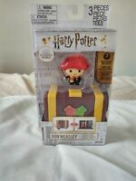 "Harry Potter Ron Weasley Collectible 2"" Toy Figure Playset New Free Shipping"