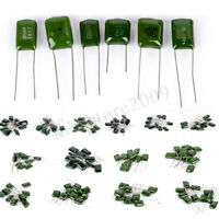 140Pcs 14 Values 630V Polyester Film Capacitor Electrolytic Assortment Kit ! !