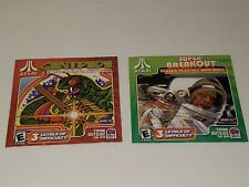 Lot of 3 - Taco Bell Atari Games - Win/Mac Centipede & Super Breakout