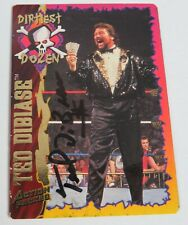 Ted DiBiase WWF 1995 Action Packed Signed Autograph Auto Card 36 JSA COA