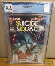 Suicide Squad #6 CGC 9.4 (2012) New 52 Paul Renaud Harley Quinn dc comics batman