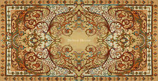 """39"""" DECORATIVE TAPESTRY TABLE RUNNER Victorian Ornament EUROPEAN ACCENT MAT"""