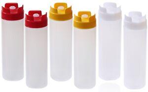 Quetschflasche Silikonventil Set Dosierflasche Dekorierflasche Spender Tube