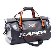 Kappa By Givi Motorcycle Waterproof Tailbag Shoulder Bag with Roll Top Black 50L