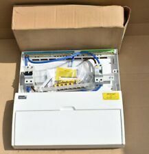 Newlec NLCU17PSL Circuit Board Metal Consumer Unit Dual RCD 17 Way 100a 230v