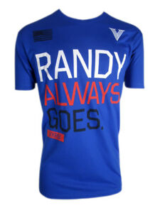 VXRSI Mens Randy Always Goes T-Shirt - Blue - mma bjj ufc