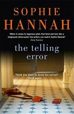 New, The Telling  Error (Culver Valley Crime), Hannah, Sophie, Book