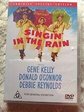 SINGIN' IN THE RAIN Golden Classic Gene Kelly NEW & SEALED DVD R4