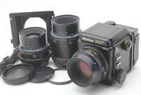 【MINT】 MAMIYA RZ67 Pro II, sekor Z 110mm f2.8 W, 90mm f3.5 W, 180mm f4.5 W JAPAN
