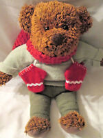 "Hallmark 12"" Teddy Bear Plush 100th Anniversary 2002 Collectable &"