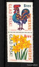 SUECIA SELLOS NUEVOS FLORES flores Scott 2223/4 98M365