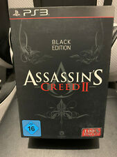 ASSASSIN'S CREED II 2 : BLACK EDITION - COLLECTOR LIMITEE - PS3 / PLAYSTATION 3