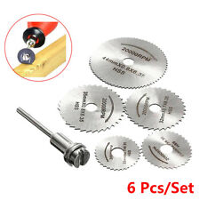 6Pcs/Set Hot Pro Rotary cutter Mini HSS Circular Saw Disc Blades cutter Tools