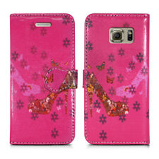 LEATHER WALLET BOOK STAND PHONE LUXURY COVER FOR SAMSUNG GALAXY S4 NEO & S8 PLUS