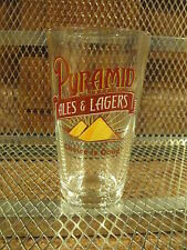 Pyramid Brewing Co Beer Pint Glass Ales & Lagers Seattle Portland C