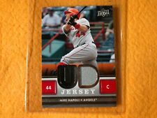 T2-89 Baseball Card - Mike Napoli Angels - 2008 Upper Deck - Game Jersey Piece