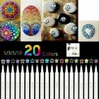 20 colors Acrylic Paint Pens Set Premium Marker Pen Premium Markers Extra DIY