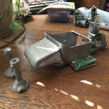 "*LQQK* ""1/8th Scale Aluminum 1924 MODEL'T' ONE-OFF GAS TETHER CAR W/RARE ENGINE"""