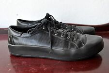 Y-3 Yohji Yamamoto x Adidas Black Leather Sokuo Sneakers Sz 9.5 US Sold Out Rare