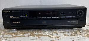 Panasonic DVD-CV50 DVD/Video CD/CD Player 5 Disc Changer RCA Component 5.1 dolby