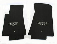 NEW! FLOOR MATS 2004 PONTIAC GTO CREST Embroidered Logo on both Front mats