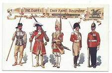 MILITARY - BUFFS, EAST KENT REGIMENT Uniforms 1572-1905 Postcard