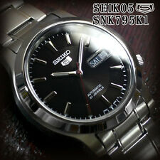 Seiko 5 Men's SNK795K1 Stainless Steel Automatic 21 Jewels Day Date Watch