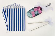 Sweet Table Kit 100 Blue Sweet Bags 3 Sweet Tongs 3 Sweet Scoops Candy Buffet