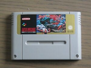 JEU SUPER NINTENDO SNES STREET FIGHTER II