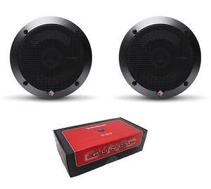 "Pair of Rockford Fosgate Punch 5.25"" 160W 2-Way 4 Ohm Full Range Speaker P152"