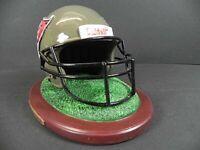 Tampa Bay Buccaneers Replica Helm auf Base,NFL Football Poly Helmet,NEU,550 gr.