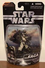2006 STAR WARS SAGA COLLECTION FIRESPEEDER PILOT #22 Figure NIB